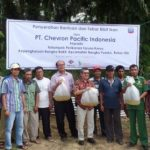 Chevron Bantu Pemuda Bangko Bakti 20.000 Bibit Ikan