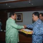 Penyerahan LAKIP, Riau Selalu Tepat Waktu