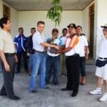 EMPLOYEE VOLUNTEERISM PROGRAM Alat Berat RAPP Bantu Perbaikan Jalan Desa