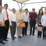 BANK RIAU, MANDIRI, BNI 46 DAN PLN Kunjungi Lokasi Rencana Pembangkit Listrik 2×100 MW Tenayan Raya