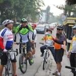 Galeri: Pj Gubernur Riau, Sekda Prov Riau dan LKBT Gowes Kota Pekanbaru