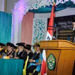 Wagubri hadiri Dies Natalis ke -52 Universitas Riau