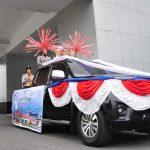 Piala WTN Diarak Keliling Kota Pekanbaru