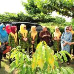 Ketua dan Wakil Ketua TP PKK Prov Riau kunjungi Empat Lokasi