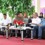 Reuni Akbar dan Dialog Peranan Alumni FNGT UNRI Hadiri Wagubri