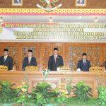 Paripurna Istimewa DPRD Kab Kuansing