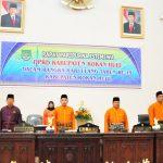Rapat Paripurna Istimewa DPRD Kab.Rokan Hulu