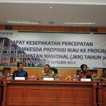 Rapat Kesepakatan Percepatan Integrasi Jamkesda Prov Riau