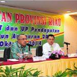 Arahan Plt Gubri Kepada Kepala UPT dilingkungan Dispenda Prov Riau
