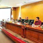 Rapat persiapan kedatangan Presiden RI ke Prov Riau