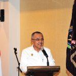 Plt Gubri Hadiri Musda Ke VII DPD PEPABRI Provinsi Riau di Hotel Alfa.