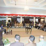 Rakor Bupati Walikota Se Prov Riau