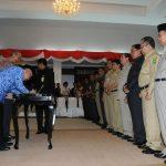 Plt Gubri Teken MoU REDD+ Dengan Kab Kota Se Prov Riau
