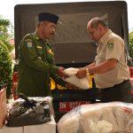 Pemerintah Kabupaten (Pemkab) Bengkalis Memberikan Bantuan Tanggap Darurat