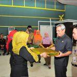 Penutupan Penyelenggaraan Pendidikan Dan Pelatihan Ke Pemimpinan Tingkat IV