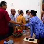 Audiensi Rektor Universitas di Pekanbaru dengan Panitia HAKI