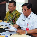 Rapat Koordinasi Pemprov Riau denga KPU Prov Riau