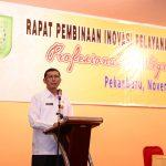 Rapat Pembinaan Inovasi Pelayanan Publik Se-Prov.Riau