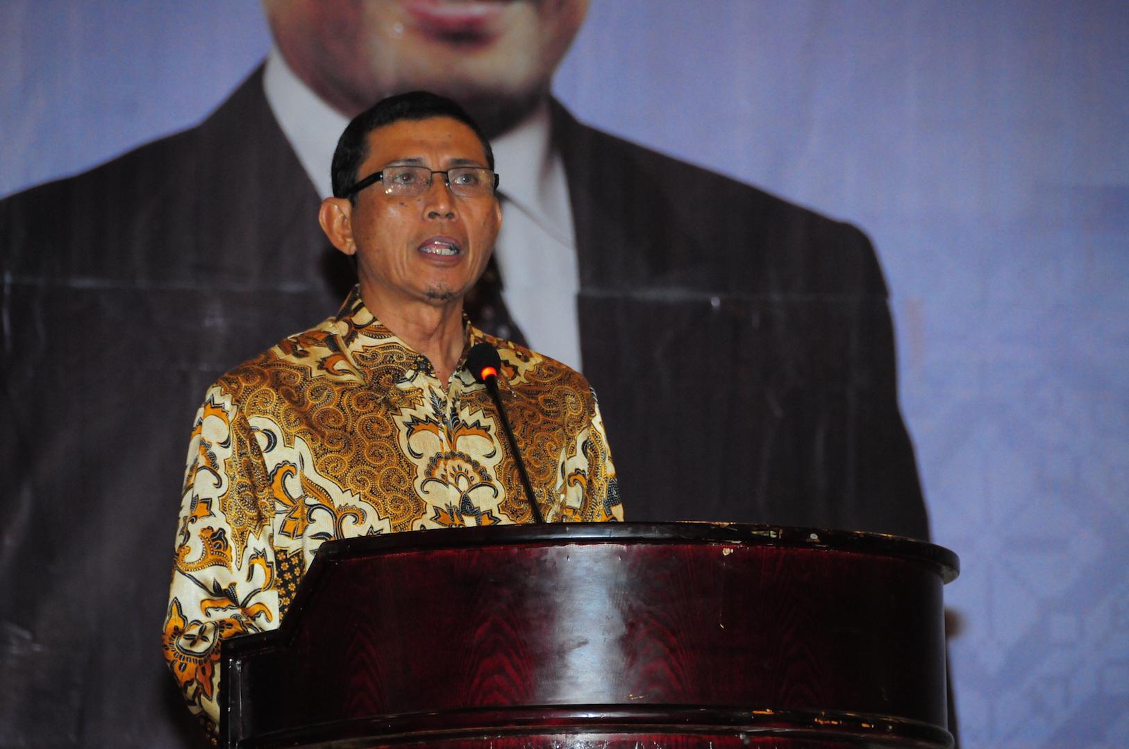ASS III Setda Prov Riau Hadiri Rakornis Sektor Perhubungan Se- Provinsi Riau Tahun 2016 di H Grand Central