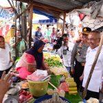 Gubri Sidak Harga Sembako di Pasar Bawah,
