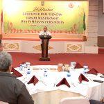 Gubri Silaturrahmi dengan Tokoh Masyarakat & Pimpinan Media Massa