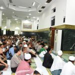 Gubri Sholat Jumat bersama Kapolri di Masjid Raya Annur