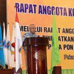 Gubri buka Rapat Anggota Koni Provinsi Riau Tahun 2017