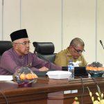 Rapat Penyampaian Kebijakan Anggaran untuk Penyusunan RKPD Prov Riau Tahun 2018