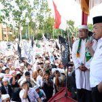 Gubri Memberikan sambutan saat Aksi Bela Islam 2 desember 2016