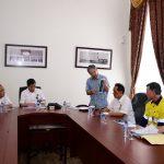 Gubri dampingi Menteri ESDM RI Rapat Terbatas dengan Instansi Terkait