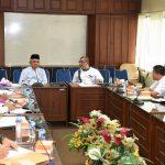Rapat Koordinasi Gubernur dengan Jajaran Dinas PU
