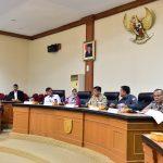 Pertemuan Komite I DPD RI dengan Pemprov Riau
