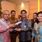 Peresmian Lounge Garuda Indonesia di Bandara Sultan Syarif Kasim II