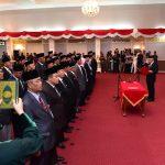 Pengukuhan dan Pelantikan Pejabat Pimpinan Tinggi madya dan Pratama di Lingkungan Pemprov Riau