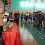Gubri membuka Tournamen Riau Pos IKPTB Gong Xi Fa Cai Cup II