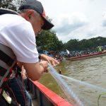 Gubri Buka Festival Danau Bakuok di Kab Kampar