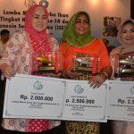 Riau juara favorit Lomba Masak Ikan Tingkat Nasional