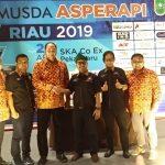 Arman Terpilih Aklamasi Sebagai Ketua ASPERAPI Riau 2019-2022
