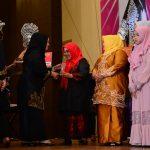 Ibu Gubri Hadiri Penyerahan Anugerah Baiduri ke 9 & Peluncuran Buku Biografi Perempuan