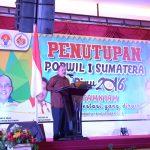 Penutupan Popwil I Sumatra Riau 2016