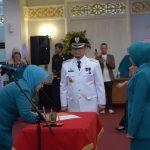 Ketua TP PKK Prov Riau Lantik Plt Ketua TP PKK Kab Kampar