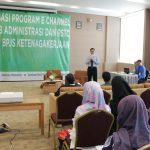 Sosialisasi Program E-Channel Tertib Administrasi Dan RSTC BPJS Ketenagakerjaan