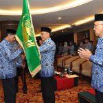 Galeri: Plt Gubri Hadiri Pengukuhan Pengurus KORPRI Riau 2015-2020
