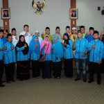 Keberangkatan Kafilah MTQ Nasional KORPRI Prov Riau