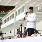 Sekda Prov Riau menjadi Imam Sholat Ashar Berjamaah