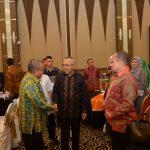 Gubri Hadiri Makan Malam Bersama, Seminar Outlook Ekonomi Riau 2017 Jumat 2 des 2016