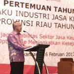 Pertemuan Tahunan Pelaku Industri Jasa Keuangan Prov Riau Tahun 2017