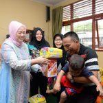 Ibu Gubri Kunjungi Anak Tunas Bangsa di Panti Asuhan Sri Mujinab