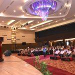 Gubri membuka Rakorda Program Kependudukan, KB dan Pembangunan Keluarga Prov Riau