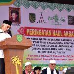 Gubri Hadiri Peringatan Haul Akbar Syekh Abdul Qadir Al Jailani di Tembilahan